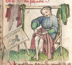 Konrad : Schachzabelbuch Elsass, 1414 Cgm 1111 Folio 221