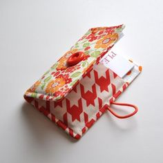 Sewn Business Card Holder Pattern