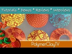 Polymer Clay Tutorial New Sculpey Product Demonstration (+playlist)