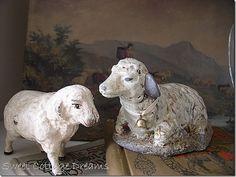 antique sheep