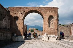 Pompeii Streets 1 Photograph by Zina Zinchik - Pompeii Streets 1 Fine Art Prints and Posters for Sale