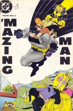 'Mazing Man 12 Frank Miller Cover