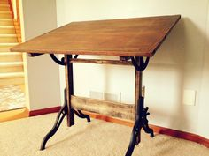 my restored drafting table