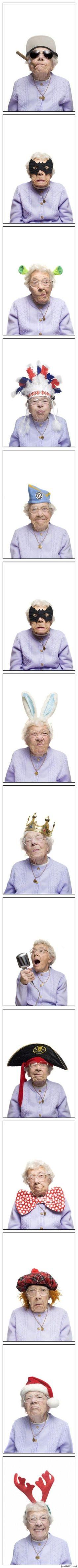 crazy old grandma