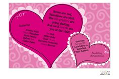 21 Best Valentine S Day Party Invitations Images Valentines Day