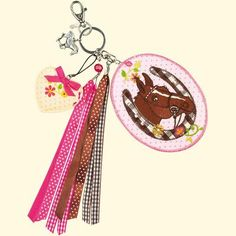 Die Pferdefreunde Taschenanhänger