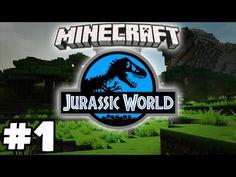 "Minecraft Jurassic World - DINOSAURS + MINECRAFT = THIS! - Minecraft Modded Survival ""Dinosaurs Mod"" - YouTube"