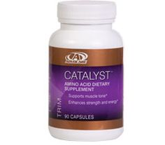 CATALYST™  •Helps maintain muscle mass during exercise & weight management*  •Aids in preserving muscle and energy levels during times of calorie restriction*  •Helps repair & protect muscle tissue*  •Works great in conjunction with AdvoCare Spark® Energy Drink and one of the Metabolic Nutrition Systems (MNS®)  www.advocare.com/10089965