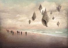 'Floating Giants' von Christian  Schloe