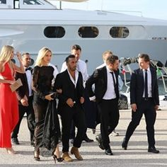 Celebrities arrive for Leonardo DiCaprio foundation event in Gassin (344953)