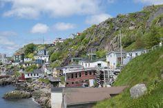 The Battery, St. John's, Newfoundland, Canada.