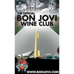 Bon Jovi Items | Join the Official Bon Jovi Wine Club today!