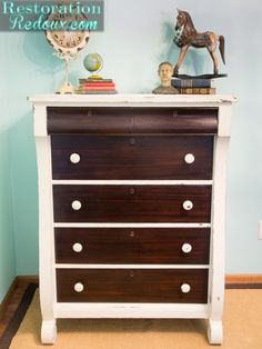 Ivory-Two-Toned-Dresser