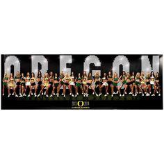 Oregon Ducks 2013-2014 Cheerleaders Poster