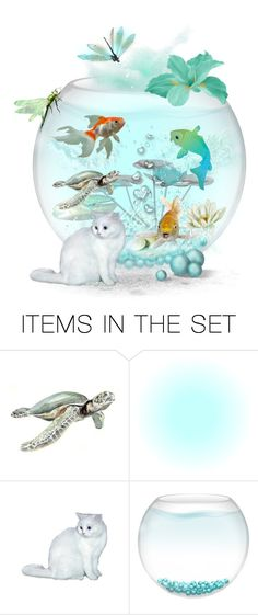"""Magic Fish Bowl🐟🐠🐟"" by ragnh-mjos ❤ liked on Polyvore featuring art"
