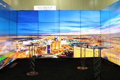 "APG Displays – NEC 55"" LCD Videowall"