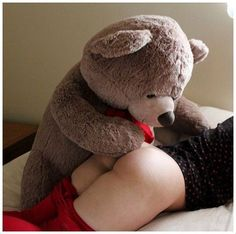 sexy girl humping teddy bears