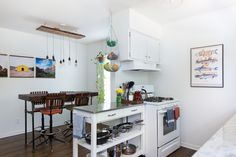 5 Ways to Regain Counter Space in a Small Kitchen