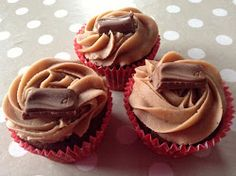 Claire's Yummy Bakes: Galaxy Chocolate Cupcakes