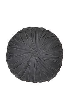 Would love to have 3 of these on my bed!  Round Velvet Pintuck Pillow  #UrbanOutfitters