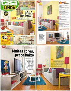 Os móveis da MMM fizeram bonito nesta produção de capa da revista Casa Linda! As mesinhas de canto Três e a mesa de centro X você encontra no site: http://www.meumoveldemadeira.com.br/