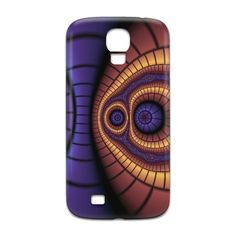 Iris Symmetry Samsung Galaxy Case by texnotropio at zippi.co.uk