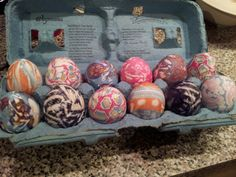 Silk tie eggs, it really does work!