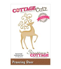 CottageCutz Elites Die -Prancing Deer