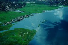 Banks of the river Congo at Mbandaka Rd Congo, Congo River, Seychelles, Uganda, Congo Rainforest, Mystic River, Congo Kinshasa, Photos Voyages, Republic Of The Congo