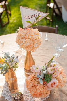 Wonderful Detail Filled Southwestern Desert Flower Themed Wedding at Maravilla Gardens | Fab You Bliss