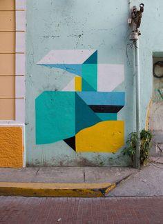 The best way to brighten your day? Mural art, definitely mural art.  http://www.booooooom.com/2017/03/06/artist-spotlight-nelio/?utm_campaign=crowdfire&utm_content=crowdfire&utm_medium=social&utm_source=pinterest