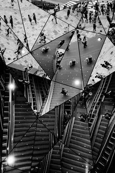 The world of a Kagami, Harajuku, Tokyo by Kouji Tomihisa