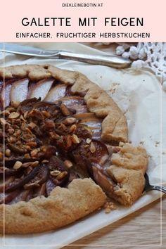 Frische Feigen, Pfirsiche und Nüsse: fruchtige-süße Herbstkombination. Schmeckt toll nach dem Kastaniensammeln zum Tee oder Kakao.  tolles Familienrezept: beim Belegen helfen schon die Kleinsten gern!