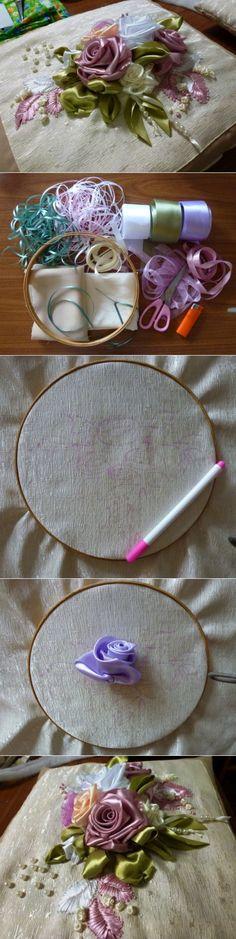 'Вдохновение' / Вышивка / Вышивка лентами