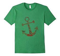 boat, sail, beach, ocean, anchor, fish, fishing tshirt