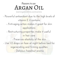 Essential Oils : Argan Oil of Morocco | Learning About EOs