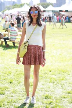 Street Style From the Governors Ball Music Festival on Randalls Island - Festival Clothing