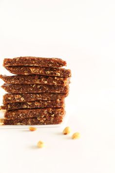Healthy Peanut Butter Granola Bars | Minimalist Baker Recipes