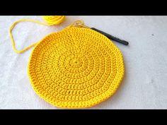 Fashion and Lifestyle Crochet Home, Knit Crochet, Knitting Patterns, Crochet Videos, Bag Making, Tabata, Crochet Bags, Crafts To Make, Crochet Doilies