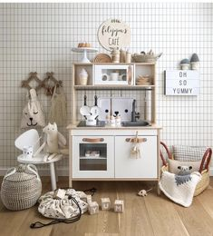 53 Ideas kids room ideas ikea play kitchens for 2019 Girls Play Kitchen, Ikea Kids Kitchen, Ikea Kids Room, Kids Bedroom, Play Kitchens, Ikea Duktig, Kids Room Organization, Baby Room Decor, Decoration