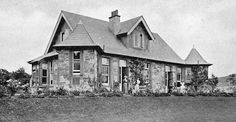 Tour Scotland Photographs: Old Photograph Cottage Hospital Moffat Scotland
