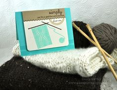 Close Knit Card by Dawn McVey for Papertrey Ink (November 2012)
