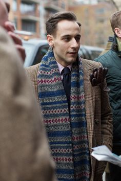 The Sartorialist - Menswear 2013 Colours. Gloves detail