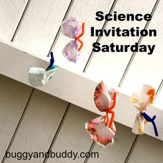 Science for Kids: Exploring Sound with a Hanger and String {Science Invitation Saturday} - Buggy and Buddy Kids Activities At Home, Science Activities For Kids, Science Experiments Kids, Science Lessons, Teaching Science, Science Projects, Crafts For Kids, Mad Science, Science Ideas