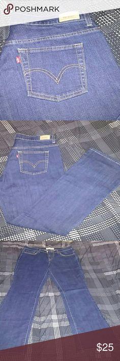 Levi's 515 bootcut jeans.  Never worn. Dark wash women's jeans. Size 8M Levi's Jeans Boot Cut