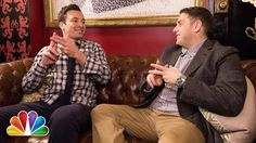 with Jimmy Fallon & Jonah Hill. I Jimmy Fallon! Jimmy Fallon Justin Timberlake, Jonah Hill, Thing 1, Tonight Show, Martin Scorsese, Saturday Night Live, Music Tv, Laugh Out Loud, The Funny