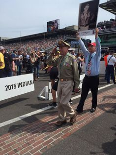 1 reason @Indy500 is so cool Remembering our heroes @IMS