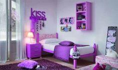 Purple Bedroom Decoration Ideas