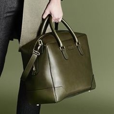 Introducing Larusmiani handcrafted Weekend Bag from A/W15 Men's Accessories Collection