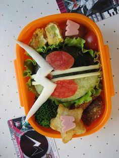Bento Box Recipes: Kamen Rider W Bento Box